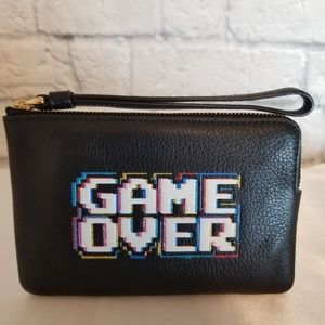 Coach x Pac-man Limited Edition Game Over Wristlet